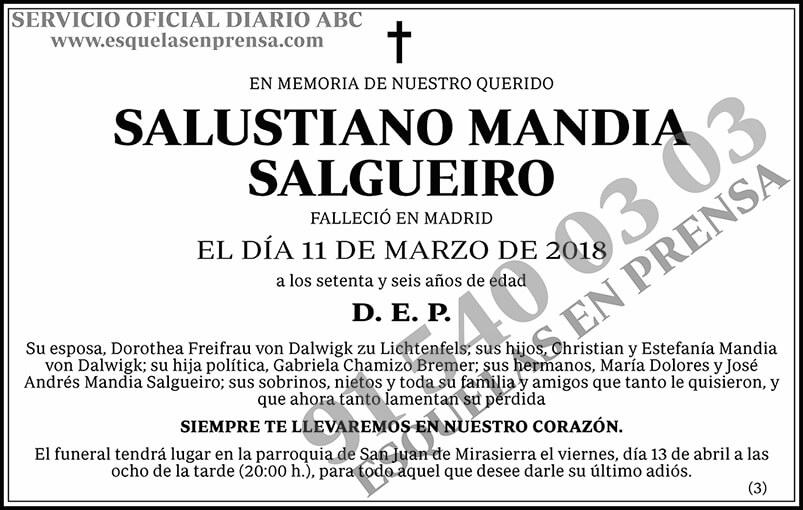 Salustiano Mandia Salgueiro